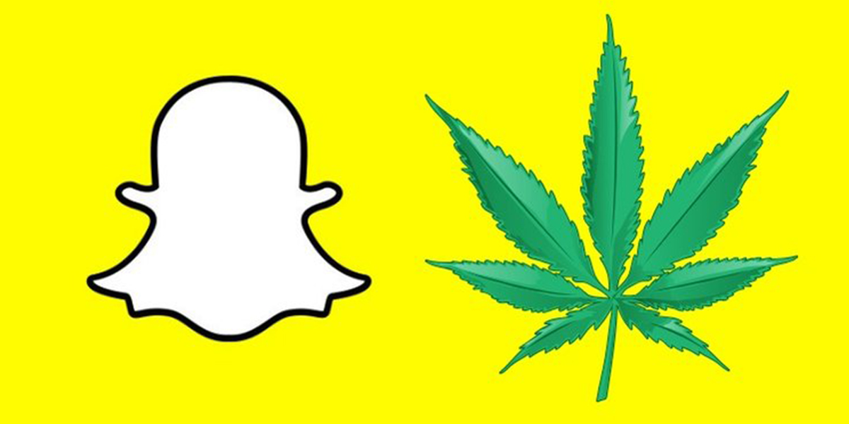 Snapchat Opens its Doors to Cannabis Advertising