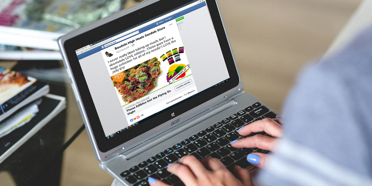 Facebook's Advertising Restrictions Don't Apply to Illegal Cannabis Companies