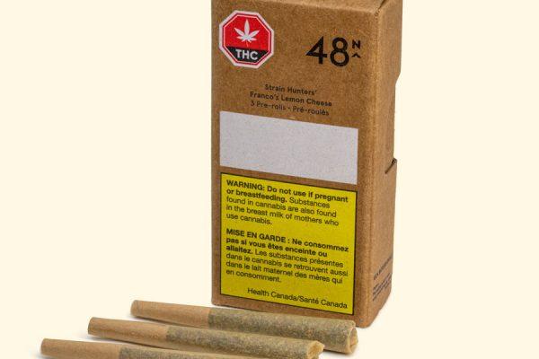 48N cannabis packaging
