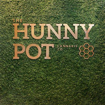 Hunny Pot Cannabis Retail Store Display