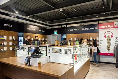 Nova Cannabis Retail Store Display