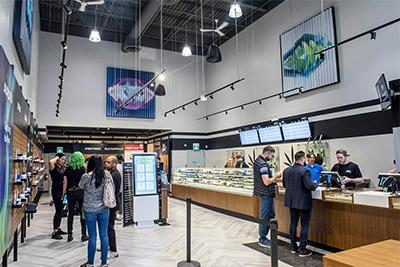 Nova Cannabis Retail Store Checkout
