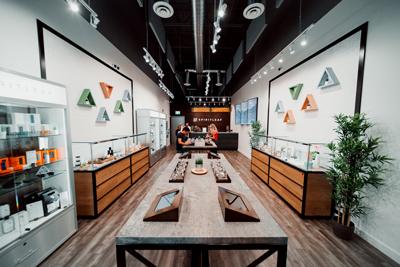 Spiritleaf Cannabis Retail Store Layout