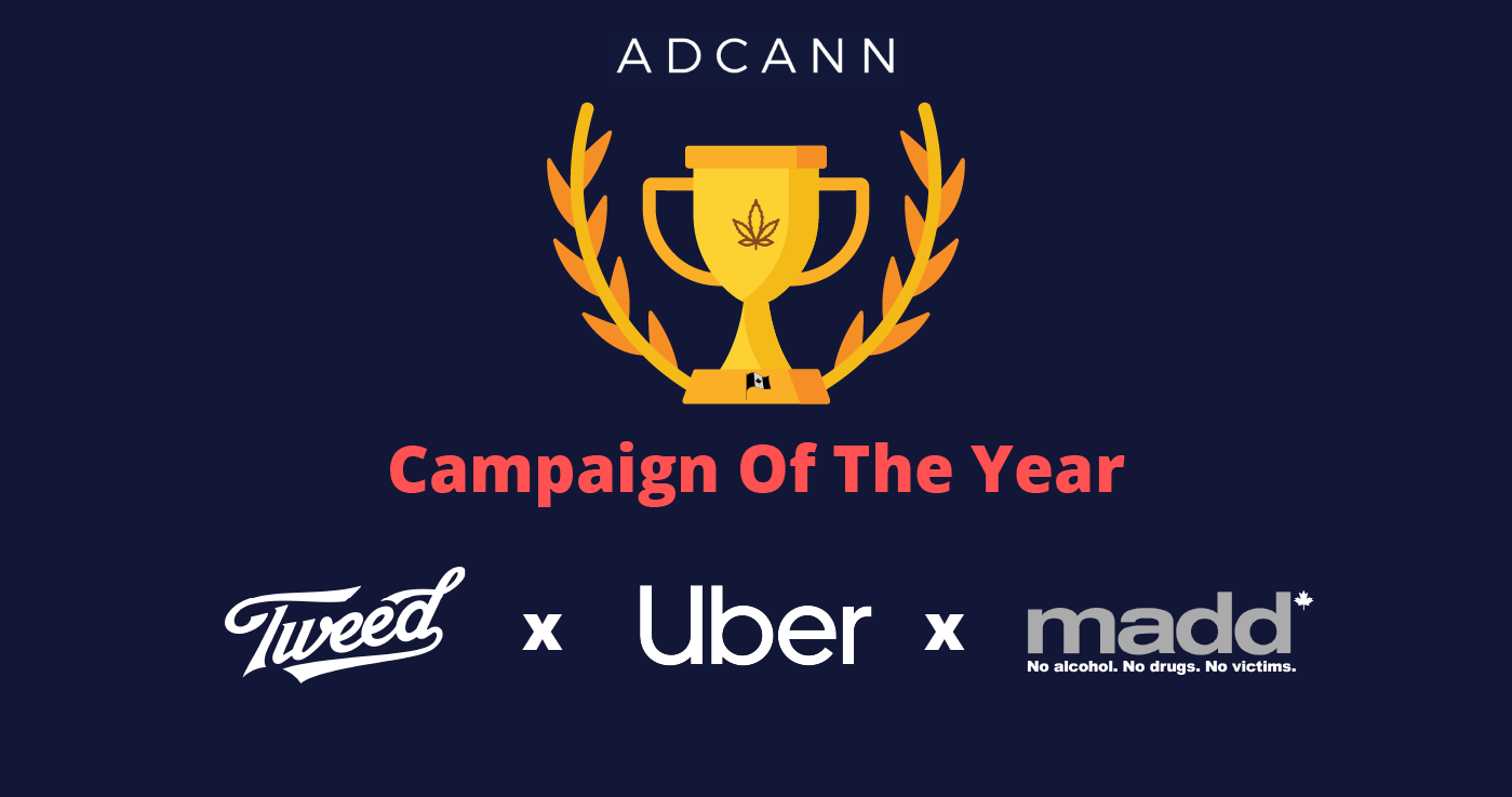 Campaign of the Year Tweed x Uber x MADD