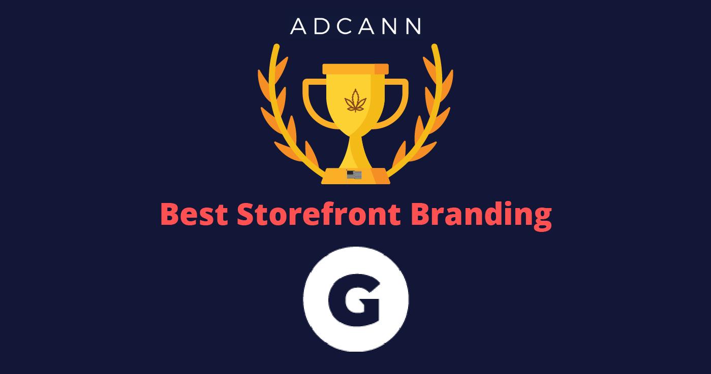 Best Storefront Branding Gage Cannabis