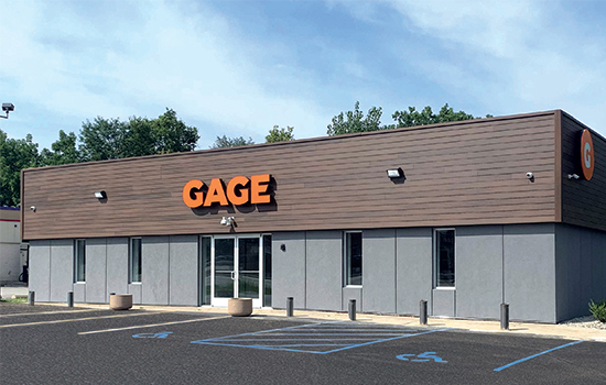 Gage Cannabis Store Exterior